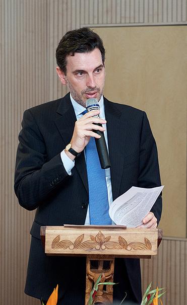 Antonio SANCHEZ-BENEDITO Ambassadeur, Chef de la Délégation de l'Union Européenne à Madagascar