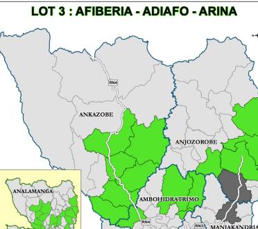 LOT 3 : AFIBERIA - ADIAFO - ARINA