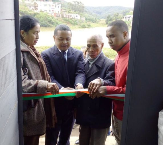 inauguration par le Chef District de Manjakandriana