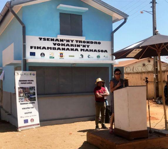 Marion Michaud, Chargée de programme au sein de l'UE à Arivonimamo